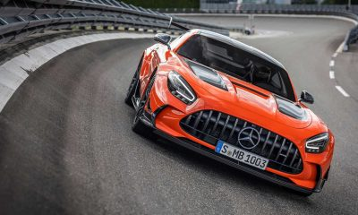 Mercedes-AMG GT Black Series na ceste