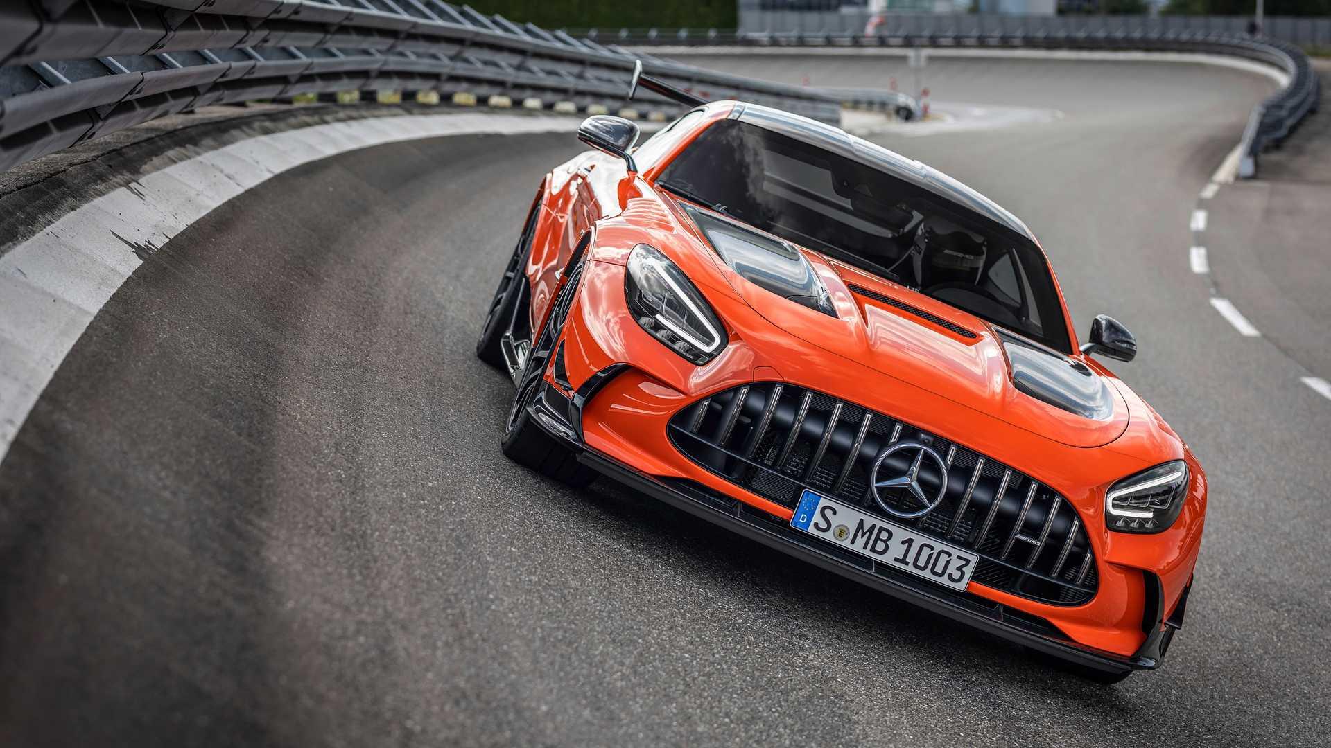 Mercedes-AMG GT Black Series na ceste