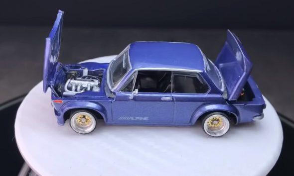Model BMW od Jakarta Diecast Project